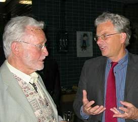 Prof. Dr. J. Kiphard im Gespräch mit Hartmut Hoster